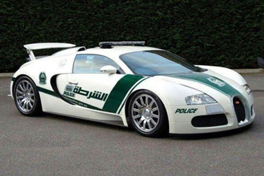 Bugatti Veyron - Image Credit: Dubai Police